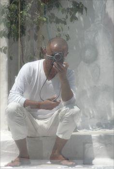 Graziano Spinosi · Reflection Selfie   Tinos Island · 2007