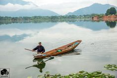 Nigeen Lake in Srinagar, Jammu & Kashmir