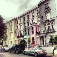 London, Notting Hill, Chepstow Villas (UK)