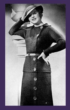 Minerva (39a) - Fuzette Yarn Style Book c.1935