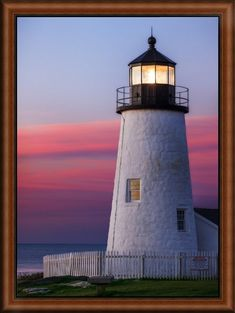 Sunrise at the historic Pemaquid Point Lighthouse on the Atlantic coast Wall Art, Canvas Prints, Framed Prints, Wall Peels Canvas Frame, Big Canvas, Ireland Hiking, Lighthouse Painting, Lighthouse Pictures, Castles In Ireland, Point Light, Ocean Shores, Irish Cottage