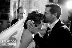 wedding, kiss