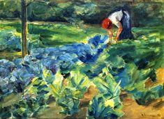 Max Liebermann - Cabbage Field
