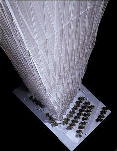 WTC 1 - Daniel Libeskind Proposal