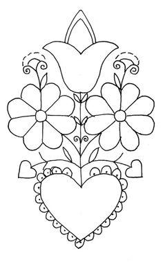 Mania Dziergan(i)a: Haft ze Schwalm Voir la réalisation en broderie blanche Embroidery Hearts, Hardanger Embroidery, Types Of Embroidery, Hand Embroidery Patterns, Beading Patterns, Embroidery Stitches, Drawn Thread, Barn Quilts, Satin Stitch
