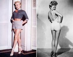 The first pin-up girl to appear on our screens, Betty Grable, was known in Hollywood for her \