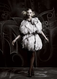 belle epoque - by chris nicholls - for flare by fashion.inspiration, via Flickr