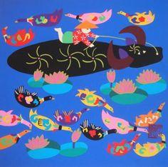 王阿?(農民画家) |金山農民画 中国の農民画紹介サイト