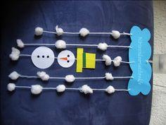 sneeuwpop mobile - sneeuwpop vouwen