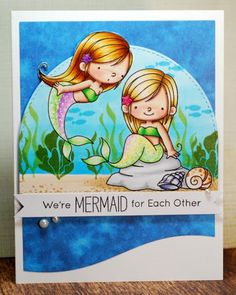 Mermaid for each other...