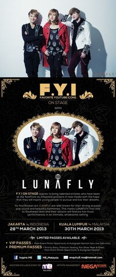 LUNAFLY to hold showcase and fan meeting at Indonesia and Malaysia