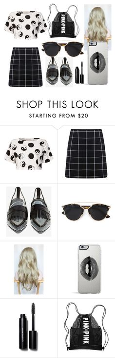 """""""Untitled #88"""" by rsytsfn-xx on Polyvore featuring Être Cécile, Miss Selfridge, Jeffrey Campbell, Christian Dior, Lipsy and Bobbi Brown Cosmetics"""
