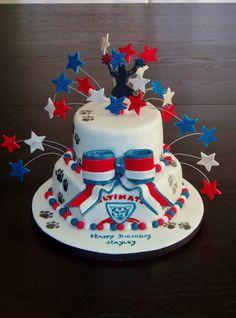 Cheerleading Themed Birthday Cakes
