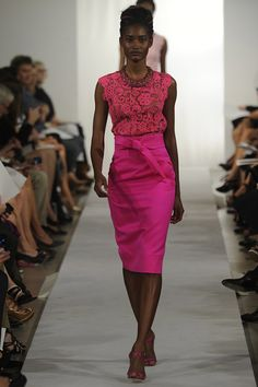 Style Pantry | Oscar de la Renta RTW Spring 2013 Collection