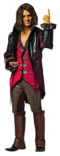 Rasta Imposta Men's Plus-Size Once Upon A Time Rumpelstiltskin, Red/Brown, Plus  - Halloween costume