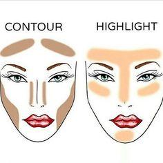 Correctores oscuros e iluminadores para perfilar nuestro rostro www.facebook.com/AleSalasmx