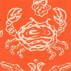 SWEPT AWAY, Coral, W8410, Collection Courtyard from Thibaut