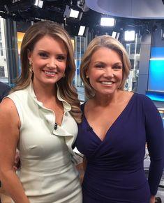 Fox New Girl, New Fox, Female News Anchors, Straight Black Hair, Blonde Women, Foxes, Style Me, Career, Beautiful Women