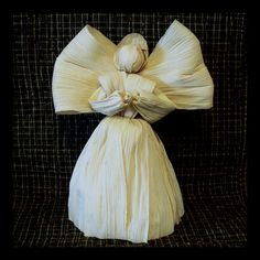 Corn Husk Angel by clearcreekmercantile on Etsy, $30.00