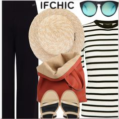 Summer with Ifchic by paculi on Polyvore featuring moda, Theory, Pink Tartan, TIBI, Caroline De Marchi, Alexander Wang and ifchic