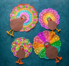 Thanksgiving Crafts: 20 simple and fun turkey crafts for kids .Thanksgiving Crafts: 20 simple and fun turkey crafts for kids Looking for easy turkey crafts for kids? These are great art projects for Thanksgiving Arts And Crafts, Thanksgiving Crafts For Kids, Holiday Crafts, Thanksgiving Turkey, Thanksgiving Activities, Thanksgiving Kindergarten Art, Turkey Crafts For Preschool, Preschool Art, Arte Elemental