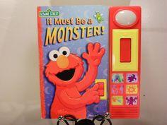 Sesame Street: It Must Be a Monster! Board book