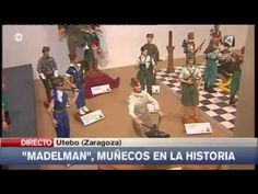 "EXPOSICION MADELMAN ""MUÑECOS EN LA HISTORIA"" EN UTEBO (Zaragoza)"