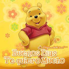 Gm mom Happy Morning, Good Morning, Disney Movies, Disney Characters, Fictional Characters, Disney Food, Good Day, Winnie The Pooh, Decir No