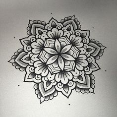 WEBSTA @ marktattooist - Another mandala available to tattoo…