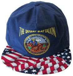 The Desert Battalion Naval Mobile Construction Seventeen Cap Hat New