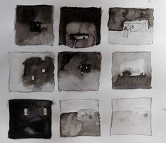Sketchbook: memories and houses. Shelagh Wilson