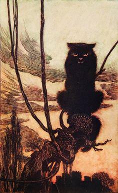 Fairy Tales of the Brothers Grimm Illustration, Arthur Rackham