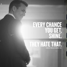 Likes, 34 Comments - Harvey Specter Boss Quotes, Me Quotes, Motivational Quotes, Inspirational Quotes, Mentor Quotes, Qoutes, Great Quotes, Quotes To Live By, Harvey Specter Suits