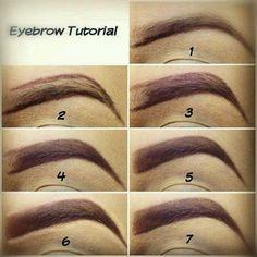 pinup eyebrow