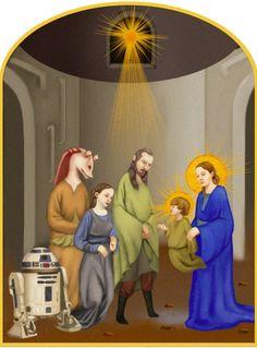 Jar Jar Binks attains sainthood in deranged Star Wars religious art