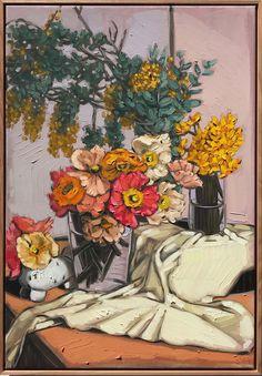 Sam Michelle is a fulltime still life oil painter. Born in New Zealand, Sam now lives in Melbourne, Australia. Sam is represented by Gallerysmith, Melbourne. Oil Painters, Still Life Art, Australian Artists, Art Festival, Insta Art, Flower Art, Art Projects, Art Prints, Peter Doig