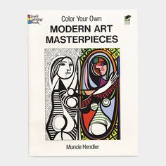 Modern Art Color Your Own Art from MoMA