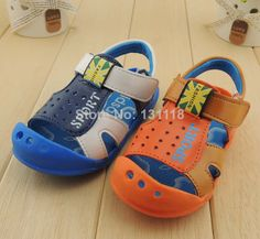 14-17cm baby boys summer shoes sandals  color blocking anticollision  first walker for kids boys casual sneakers free shipping $9.80