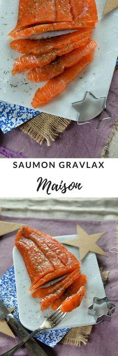Saumon gravlax maison {recette super facile à faire et délicieuse}