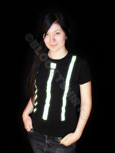 Glow Tie & Braces glow t-shirt