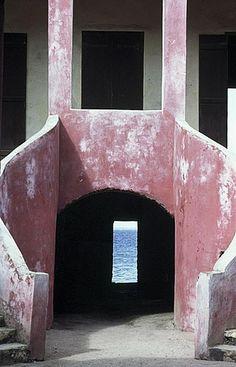 Slave trade _ House of Slaves, Gorée Island, Dakar, Senegal (1780) Door of no return
