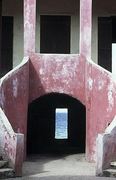 Slave trade _ House of Slaves, Gorée Island, Dakar, Senegal (1780)