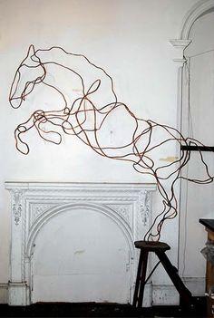 Esculturas en cobre de Anna Wili Highfield