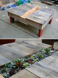#pallets #garden #diy