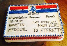 Medicare 65th birthday cake