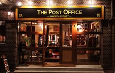 THE POST OFFICE SHOP is a new open boutique based in Osaka/Umeda, Japan. Women's / Men's designer clothes, Shoes, Bags & accessories, Vintage and Antiques. Bringing our unique choices and general products with extra junks! it is certainly worth a visit! Open 12:00 − 20:00 Close Every Wednesday Tel : +81(0)66372-5050 Press Enquiries : info@thepostoffic... Address : 3-1-18 Toyosaki, Kita-Ku Osaka-City, 531-0072 Japan