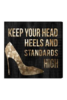 Head and Heels Canvas Art