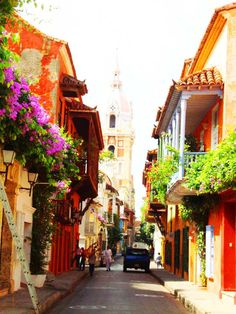 Old Town Cartagena, Colombia