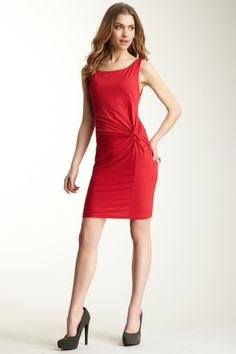 Velvet Carsa Gauzy Whisper Knot Front Dress by Dresses to Impress on @HauteLook