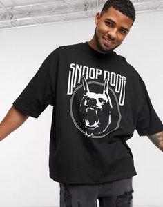 ASOS DESIGN Snoop DogG oversized heavyweight t-shirt with front print Trinidad James, Ace Hood, Mrs Carter, Snoop Dogg, Celebrity Dads, Eminem, Asos, French Montana, Asap Rocky